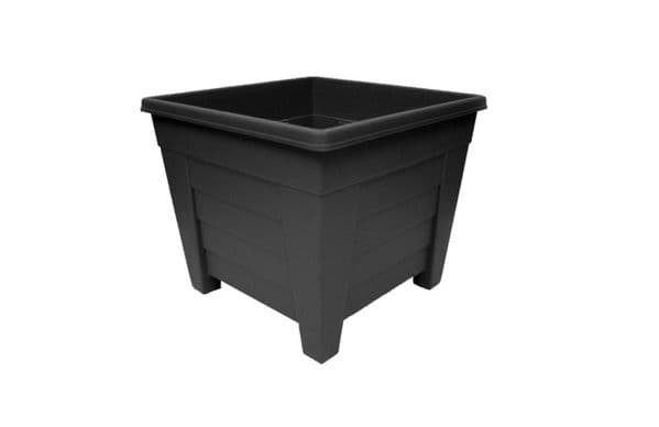 Grosvenor Square Planter - 33cm Ebony